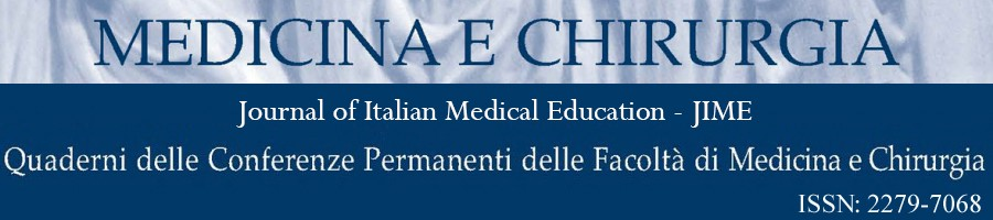 Medicina e Chirurgia – Journal of Italian Medical Education